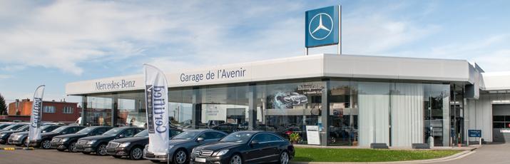 Notre entreprise mercedes benz garage de l 39 avenir beyne for Garage de l avenir croix